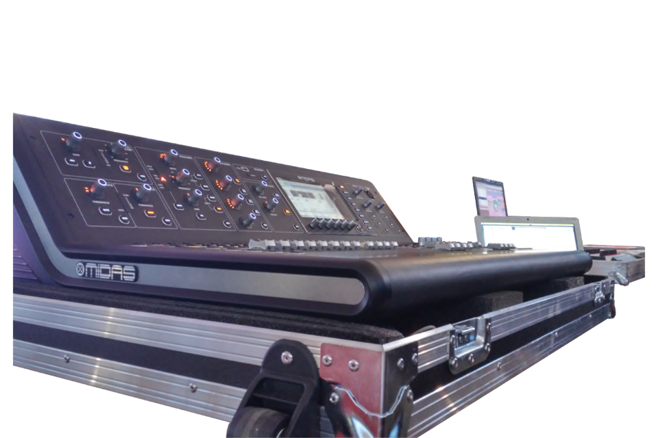 flight case per service audio luci video