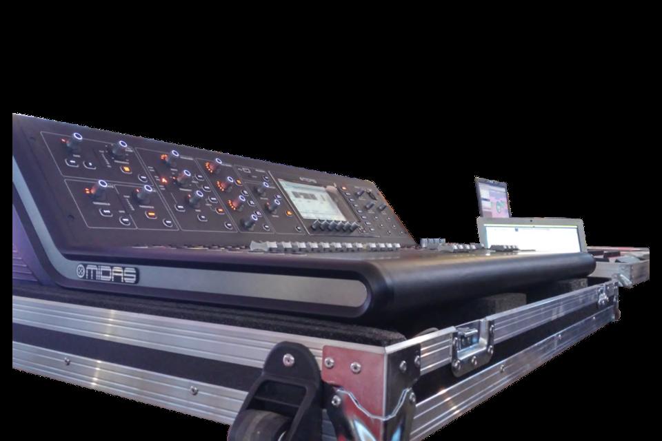 flight case per service audio luci video